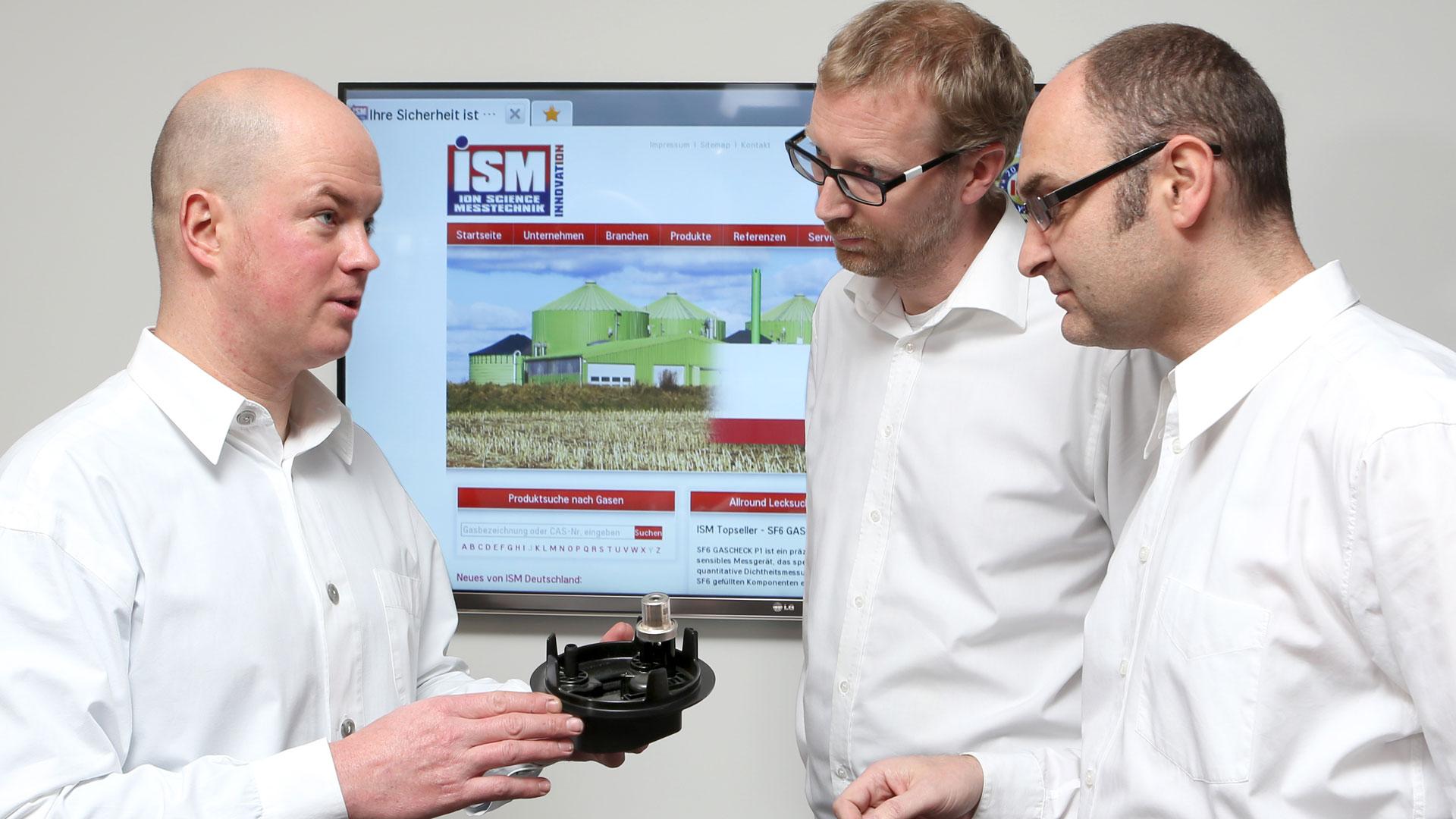 Gasdetektion Dichtheitsmessung ISM Unternehmen