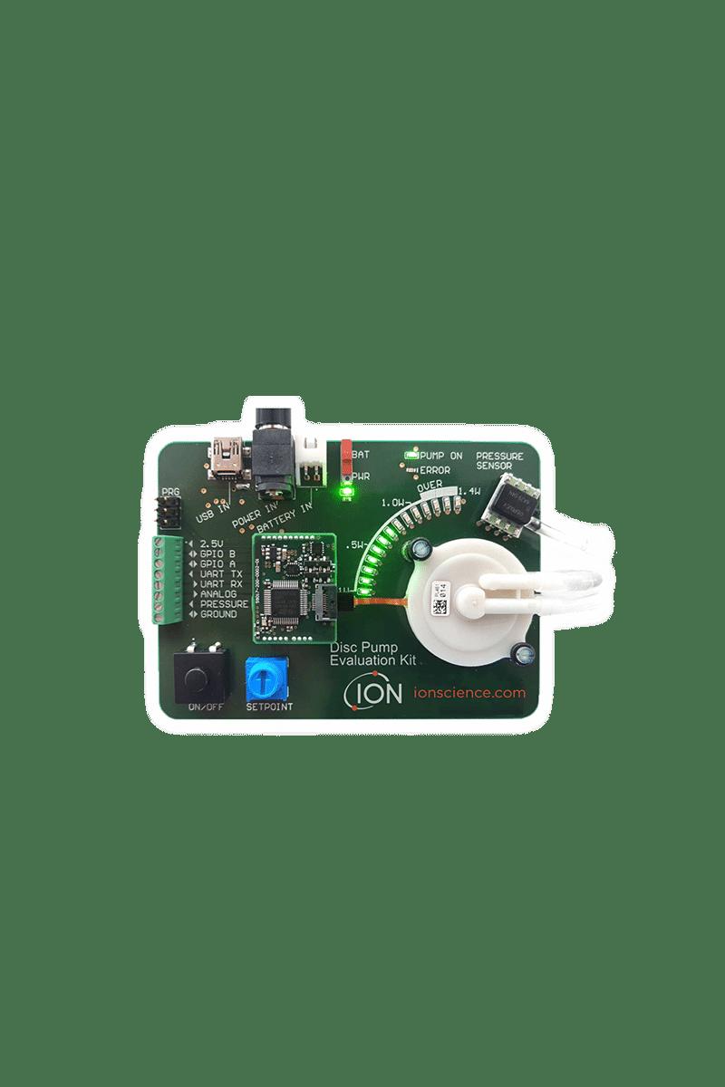 Gasdetektion Dichtheitsmessung ISM Mikropump Evaluation Kit