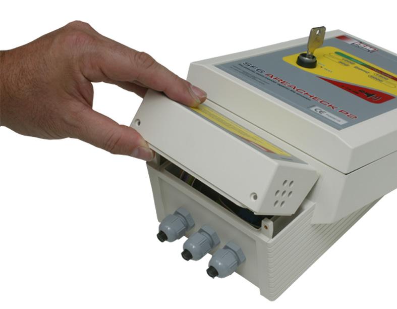 Gasdetektion Dichtheitsmessung ISM SF6 Areacheck P2