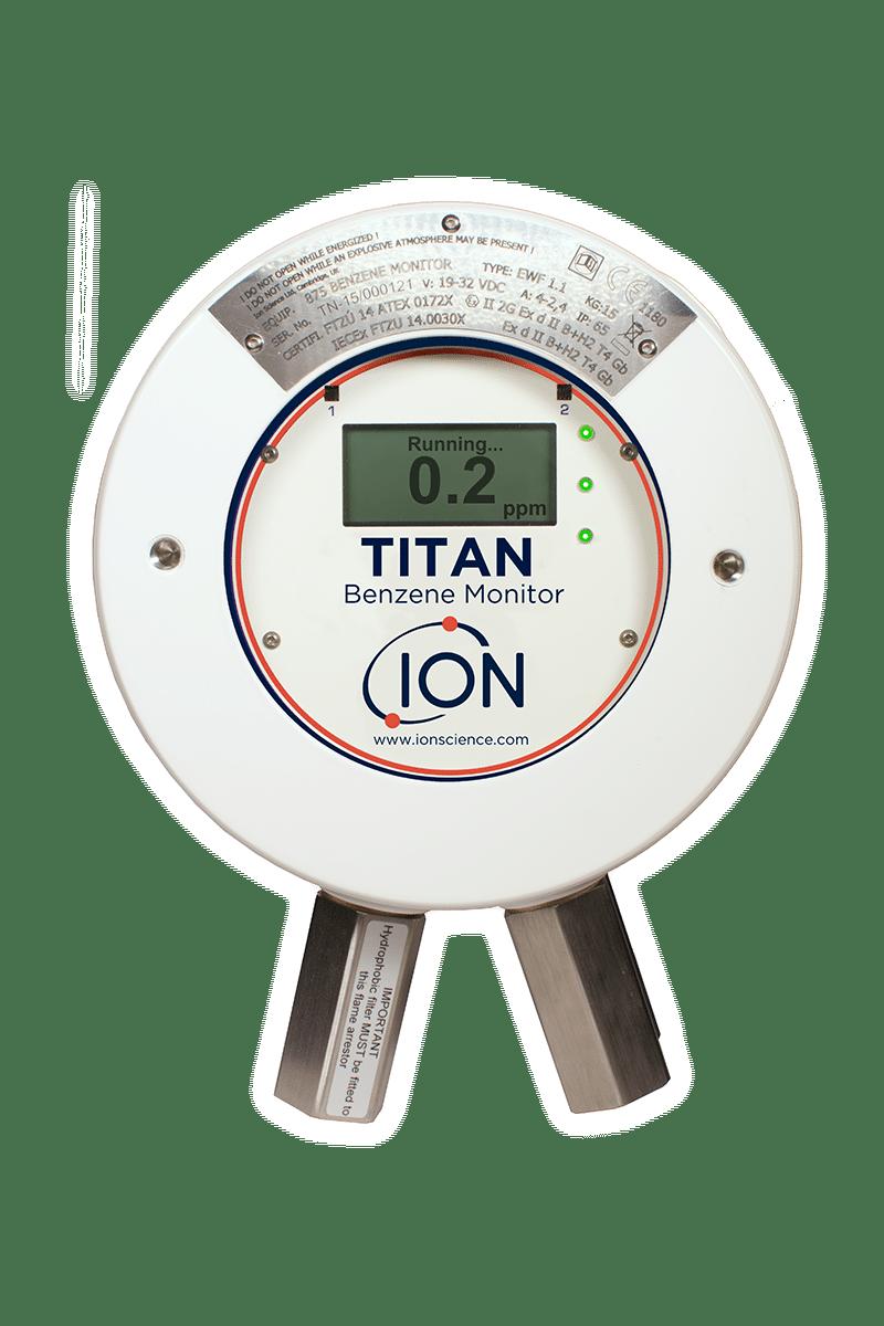 Gasdetektion Dichtheitsmessung Titan