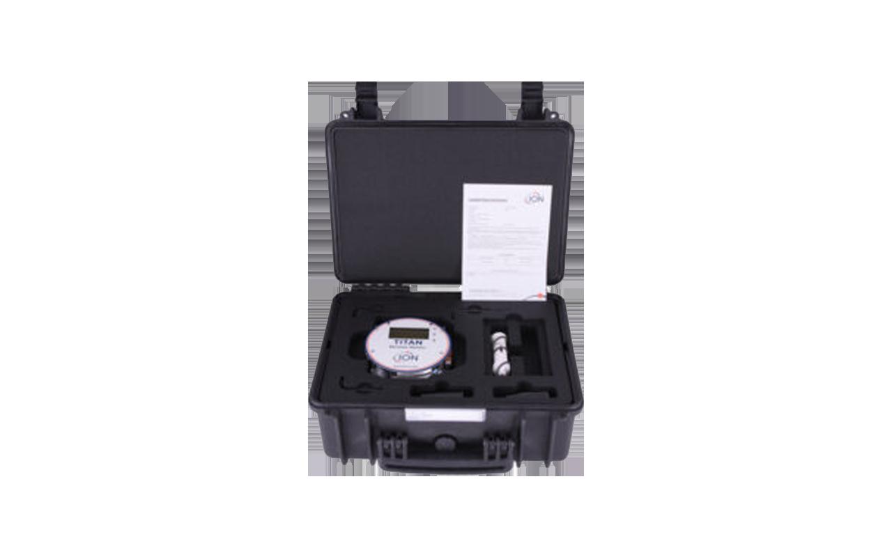 Gasdetektion Dichtheitsmessung ISM Detektormodul