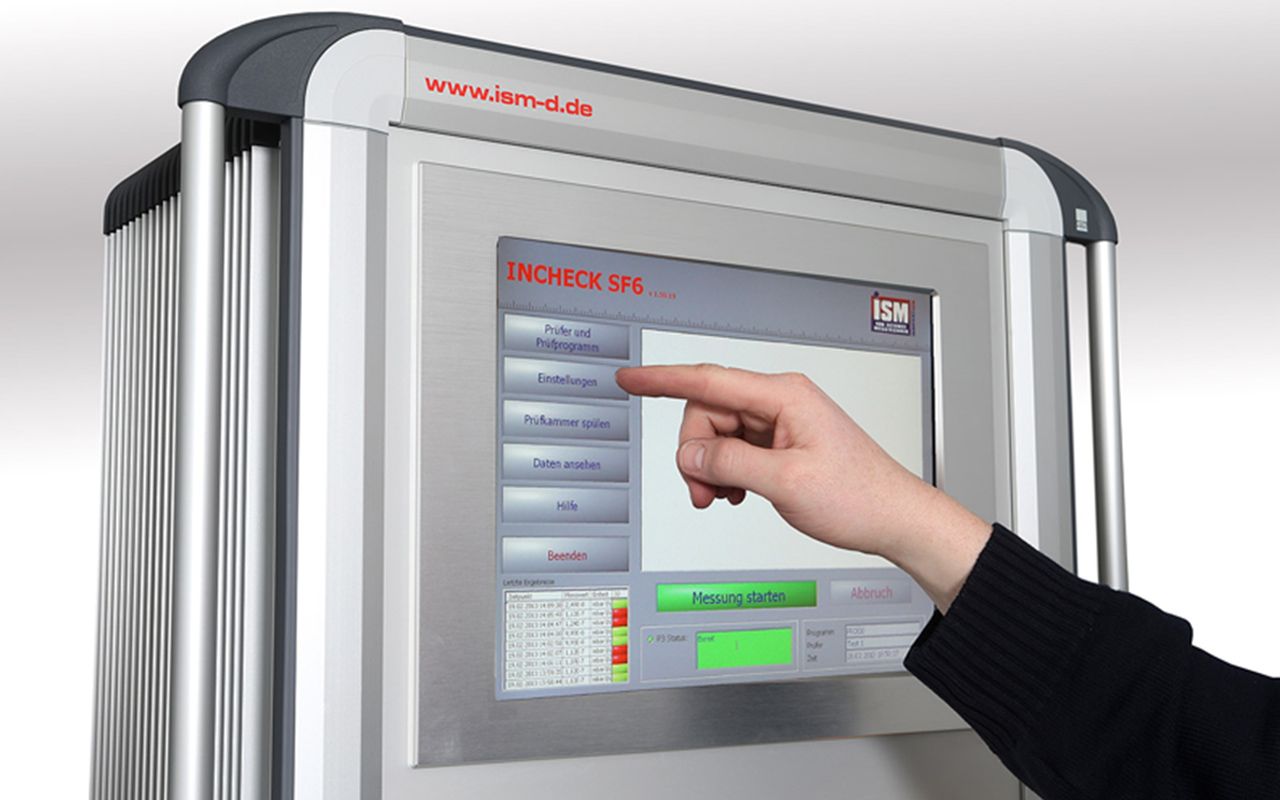 Gasdetektion Dichtheitsmessung ISM SMARTREMOTE Steuerungssystem