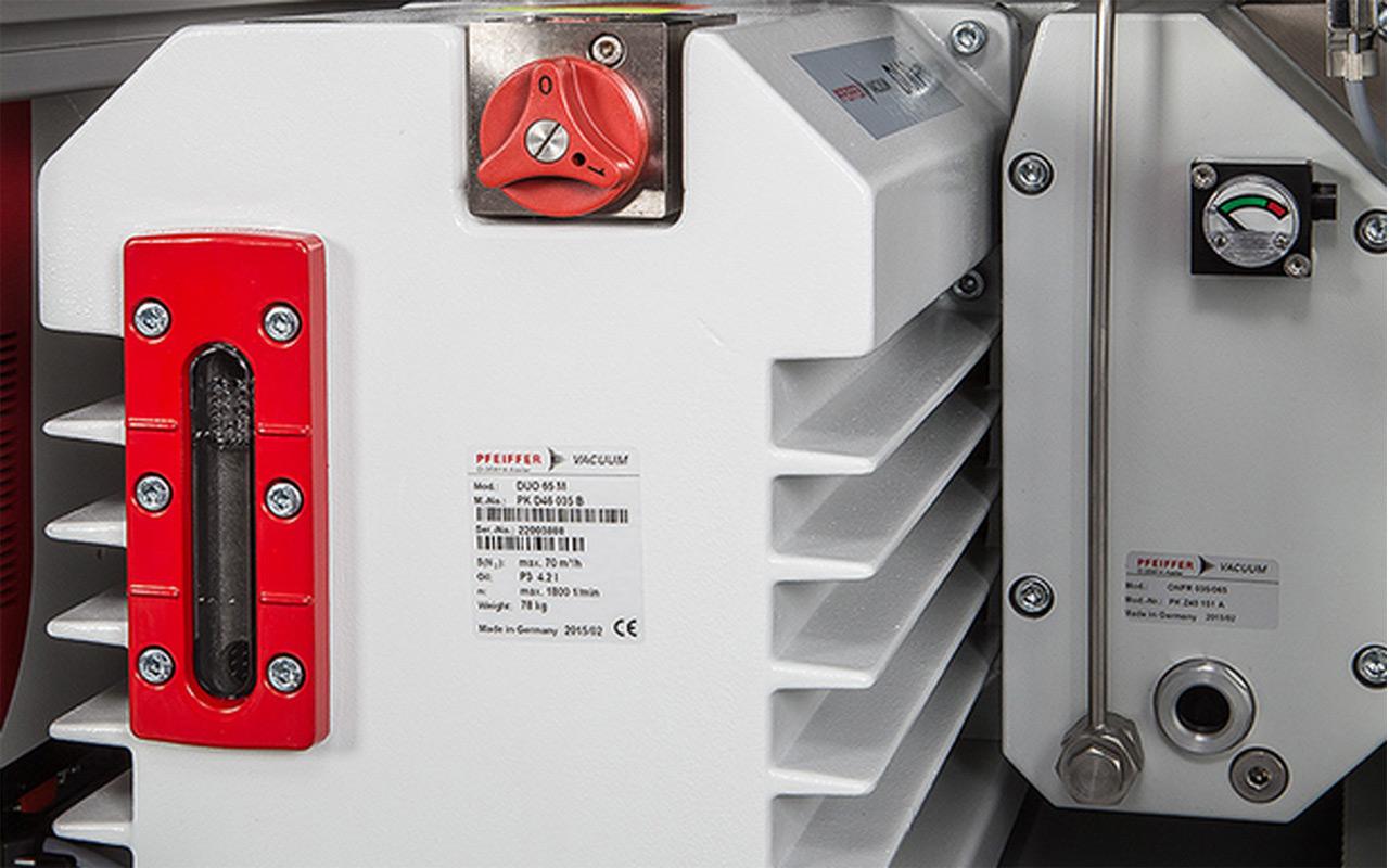 Gasdetektion Dichtheitsmessung ISM Vakuumausrüstung